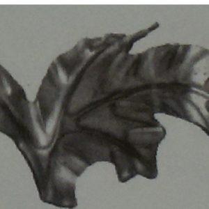 Кованый виноградный лист Арт. 1061П