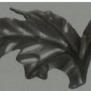 Кованый виноградный лист Арт. 1063П