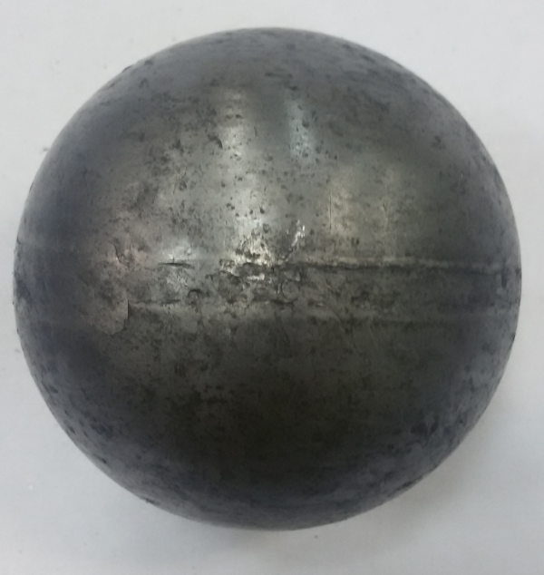 Шар штампованный металлический Арт. 02.60.1