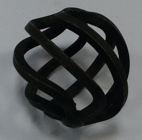Корзина кованая металлическая Арт. 06-121