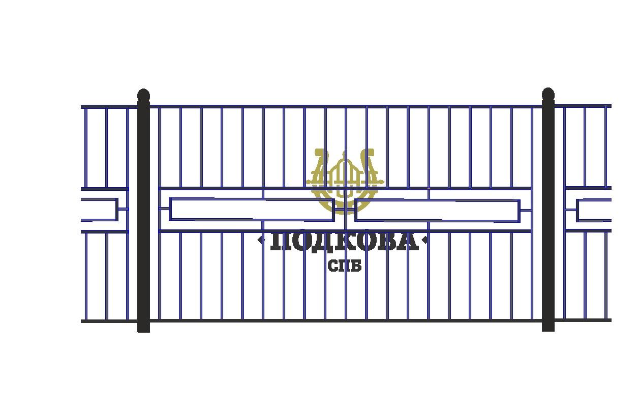 Сварной забор Арт. СО-0011