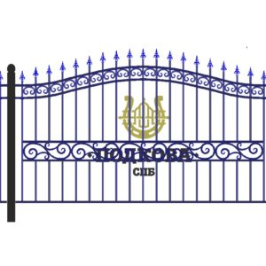 Кованый забор Арт. КО-0002