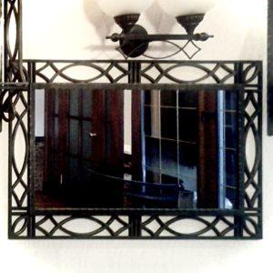 Зеркало кованое (арт. MIR15)